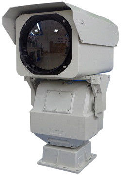 PTZ Long Range Thermal Camera , Outdoor HD CCTV Camera With Zoom Lens FCC