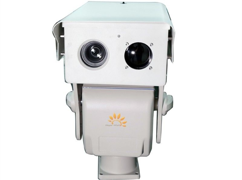 IP Security PTZ Long Distance CCTV Camera , 2000m HD Infrared Long Range PTZ Camera