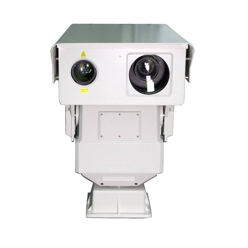PTZ Long Distance Surveillance Camera , Motorized Lens Long Range IR Camera