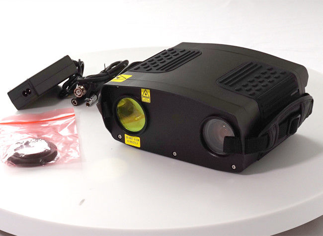 Black Laser Night Vision Camera , High Resolution Infrared Camera See Through Filmed Car Glass