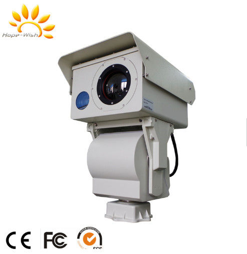 Forest Fire Prevention Thermal Security Camera / Long Distance Infrared Camera
