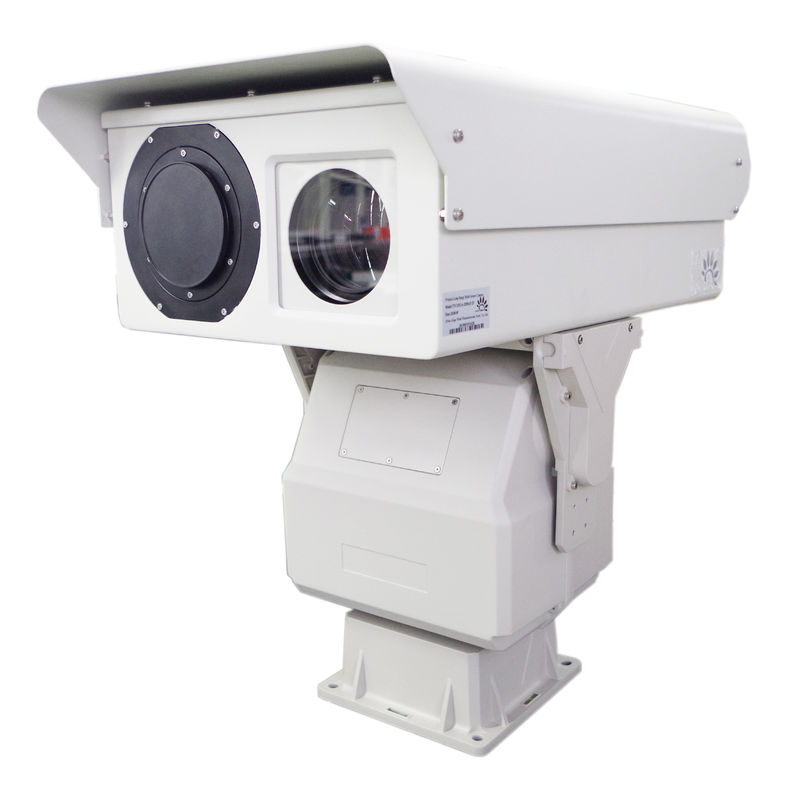 Border Security Dual Thermal Camera 5km Long Range With Optical Zoom Lens